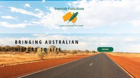 A local publisher of Australian history, site upgrade after 10 years of her old website with online store and shipping